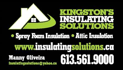 Kingston's Insulating Solutions Inc.  Basement Renovation $(in_location),  Insulation/ICF $(in_location),  Masonry/Concrete $(in_location),  Kingston,ON